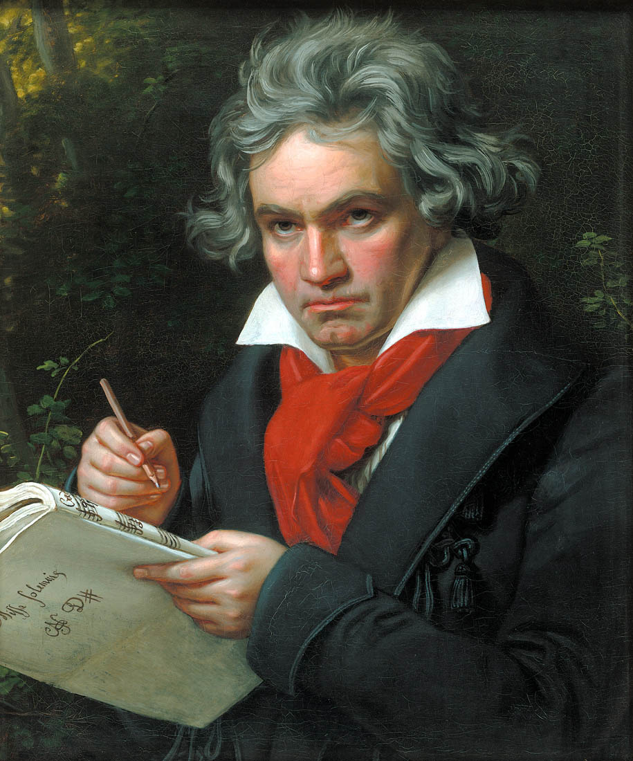 When were Ludwig Von Beethoven's birth and  dates